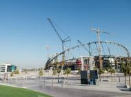 Estádio Internacional Khalifa (Foto Amnistia Internacional)