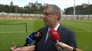 Fernando Santos: «Cidade do futebol só tem vantagens»