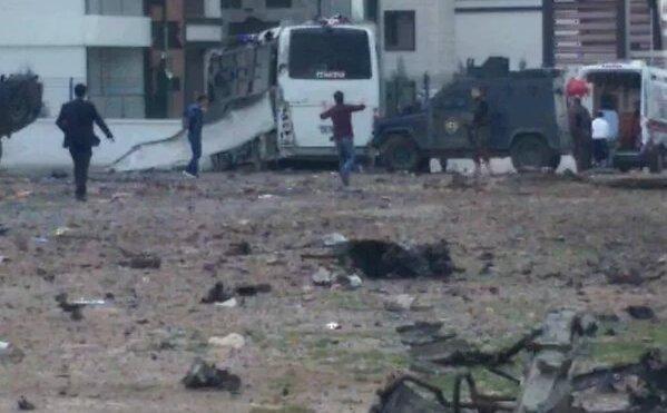 Explosão na Turquia