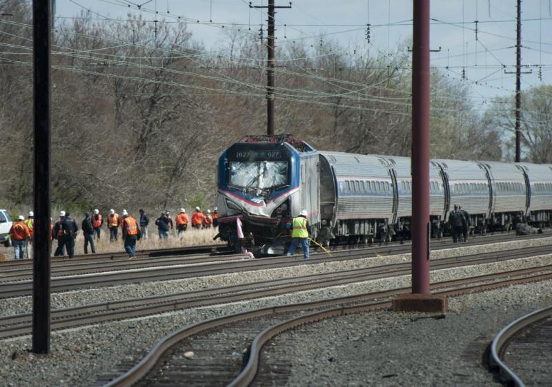 Descarrilamento de comboio nos EUA