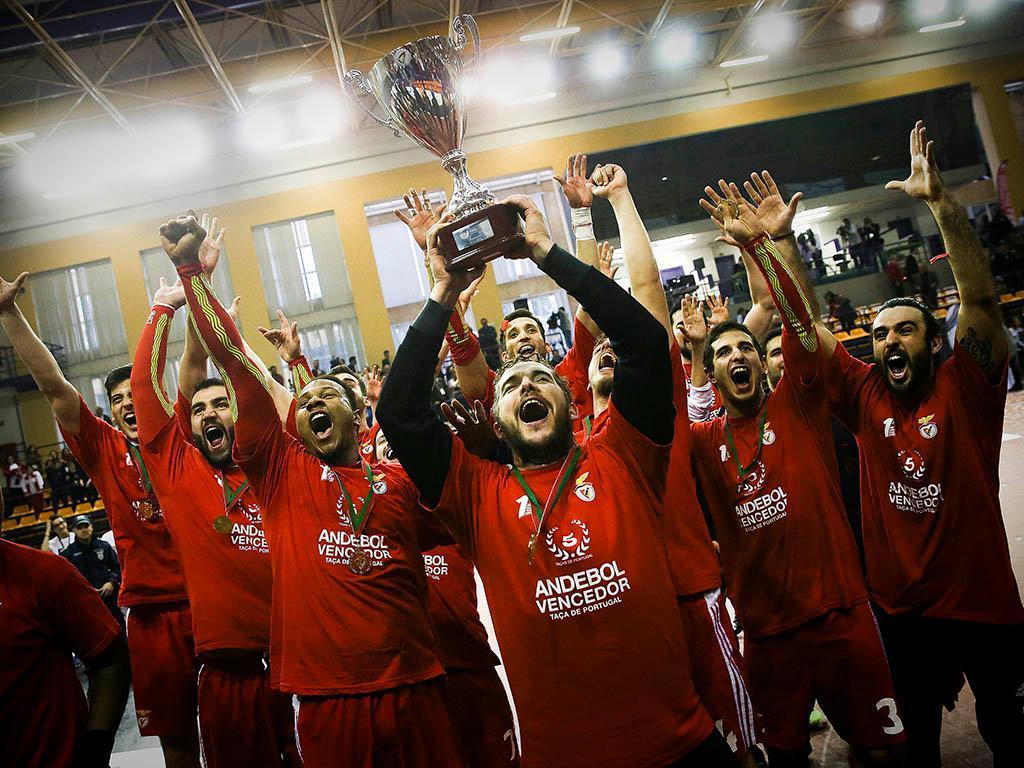 Andebol: Sporting-Benfica (Lusa)