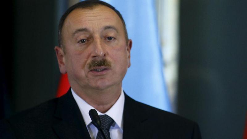 Presidente do Azerbaijão Ilham Aliyev