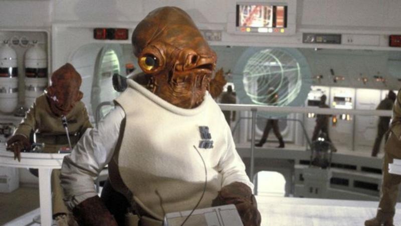 """Almirante Ackbar de """"Star Wars"""""""