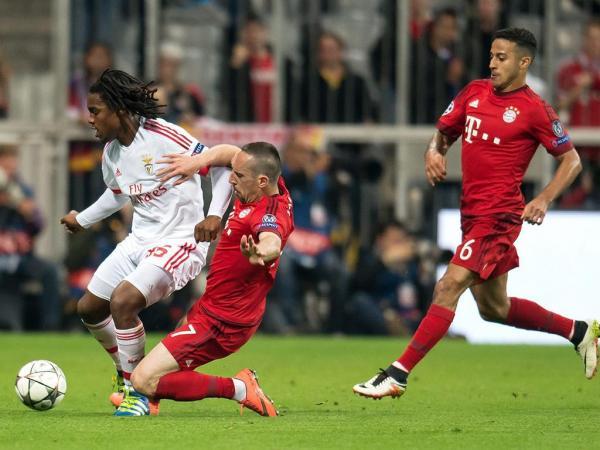 Resultado Benfica Hoje: LC: Bayern-Benfica, 1-0 (resultado Final)