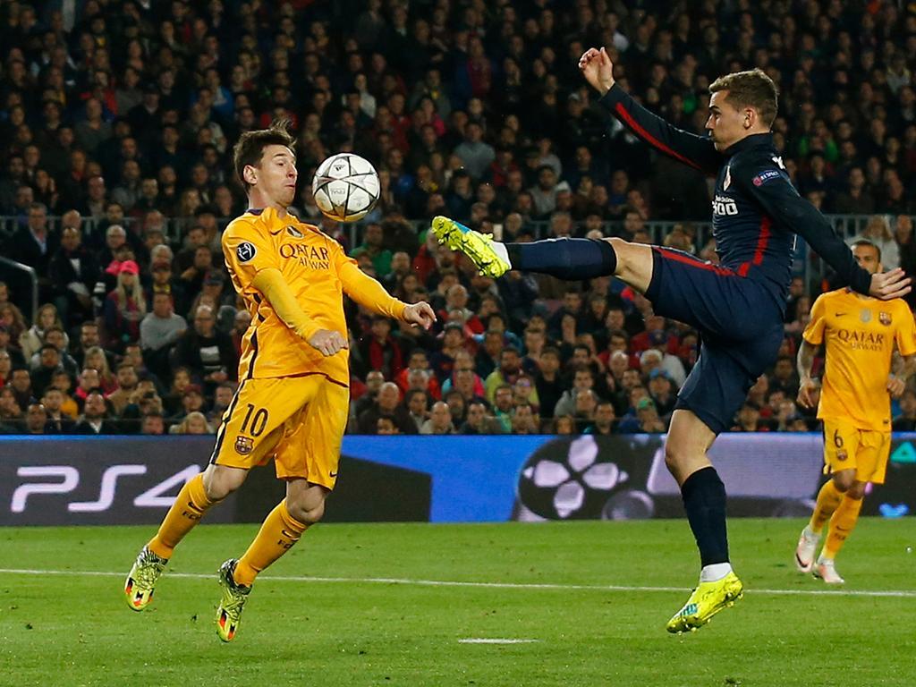 Barcelona-Atlético Madrid (Reuters)