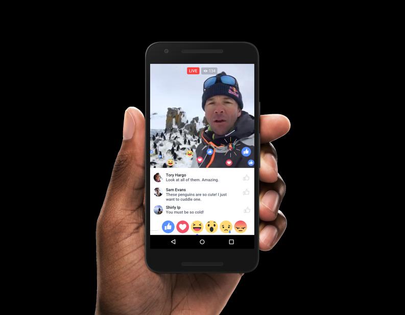 Facebook disponibiliza vídeos em direto para todos os utilizadores