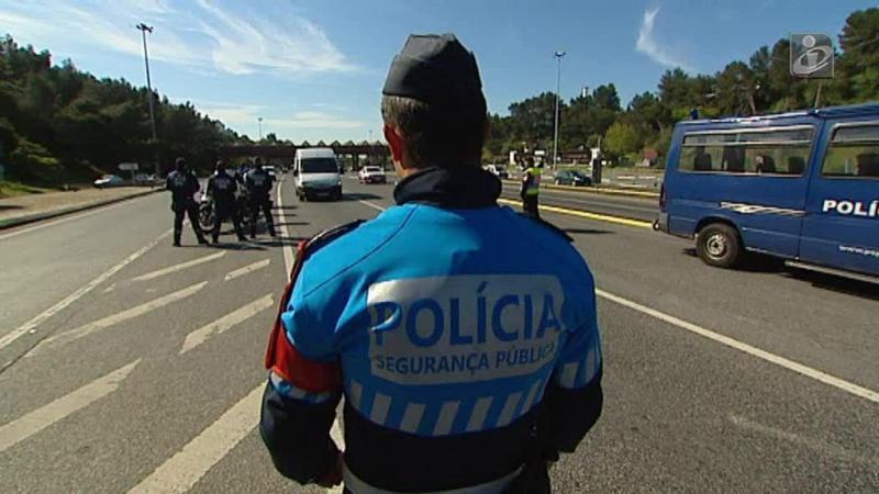 PSP e GNR fazem operação conjunta para prevenção rodoviária