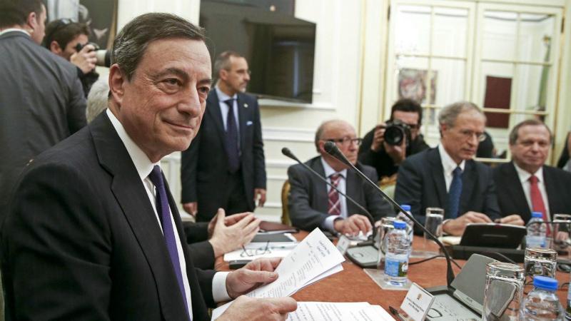 Mario Draghi no Conselho de Estado (António Cotrim/Lusa)