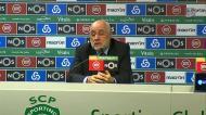 «O meu jogador podia ter sofrido lesão grave no golo do Sporting»