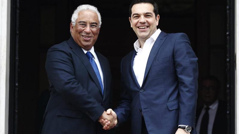 António Costa e Alexis Tsipras