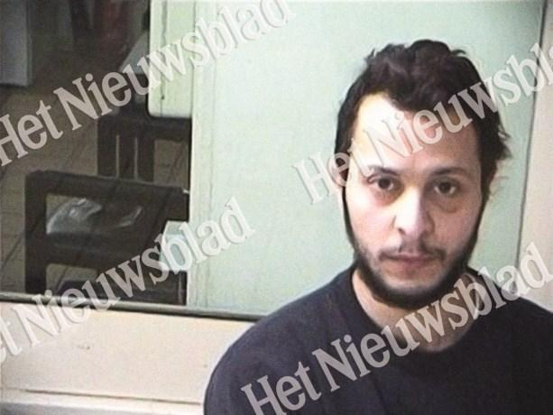 Salah Abdeslam na prisão (foto Het Nieuwsblad)