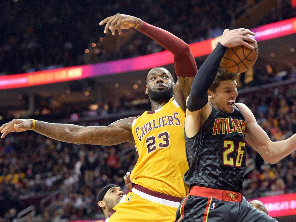 Cleveland Cavaliers-Atlanta Hawks (Reuters)