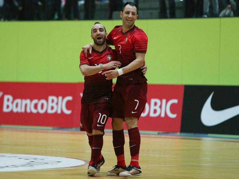 Futsal: Portugal-Sérvia (Lusa)
