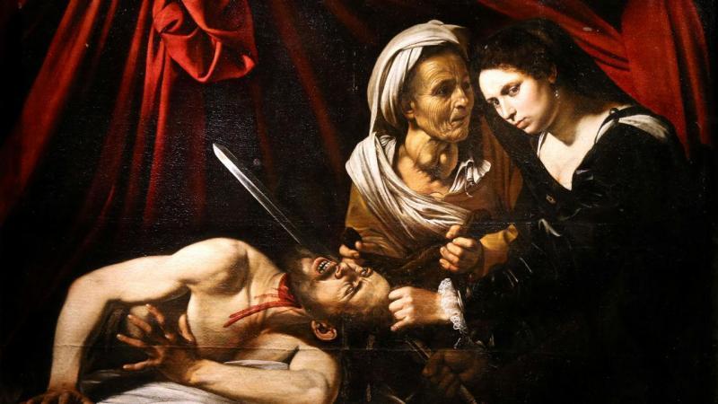 Obra encontrada no sótão de uma família francesa poderá ser de Caravaggio