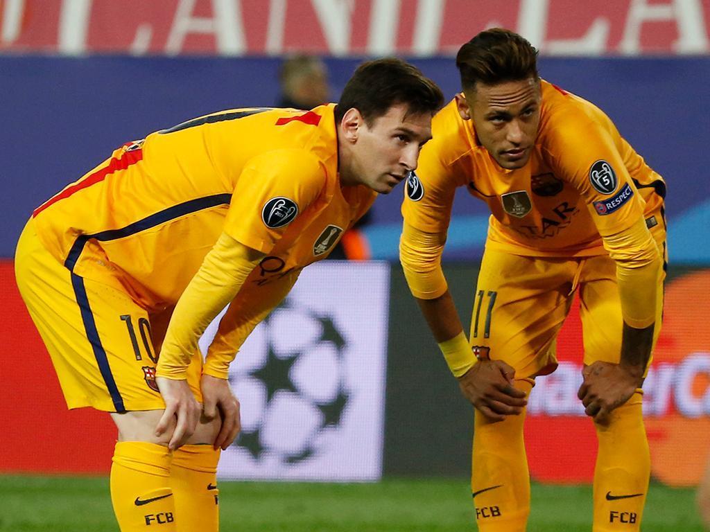 Atlético Madrid-Barcelona (Reuters)