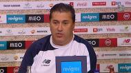«Quero dar os parabéns à equipa B e ao Luís Castro»