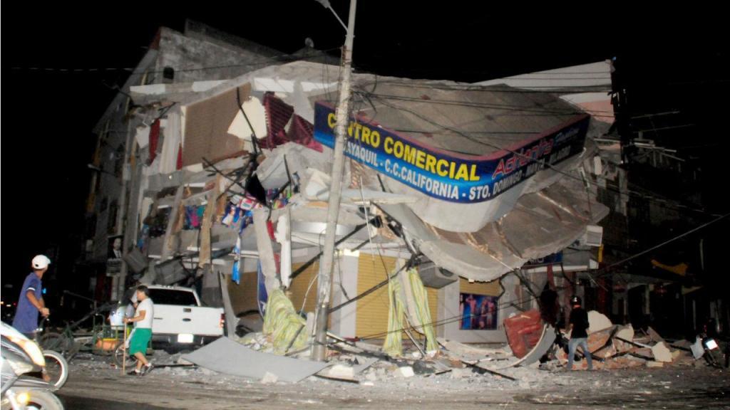 Sismo no Equador