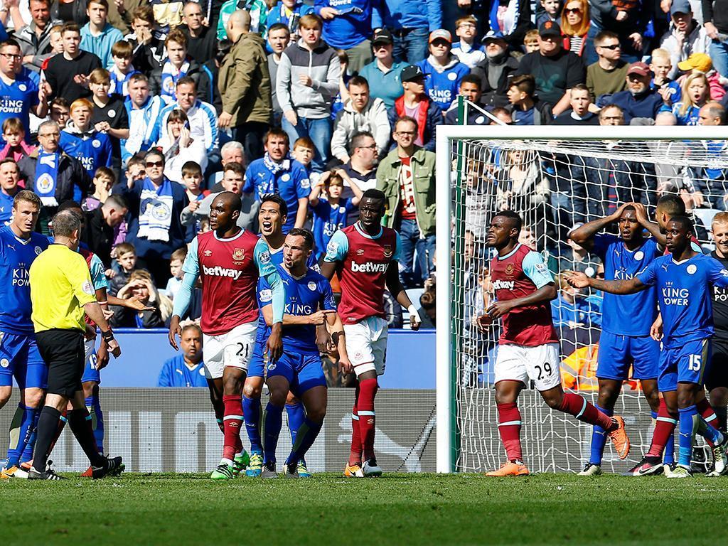 Leicester-West Ham (Reuters)