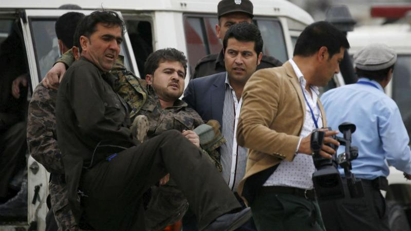 Explosão em Cabul, no Afeganistão