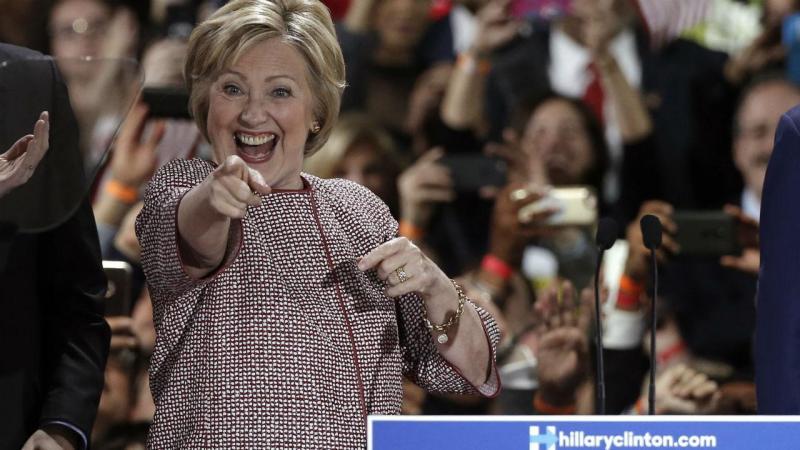 Os vencedores da noite eleitoral em Nova Iorque
