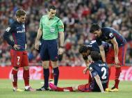Atlético Bilbao vs Atlético Madrid (EPA)