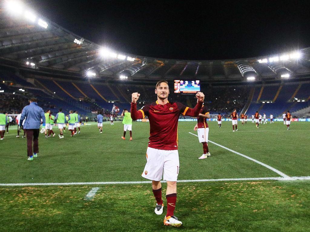 Francesco Totti (EPA/Alessandro Di Meo/Lusa)