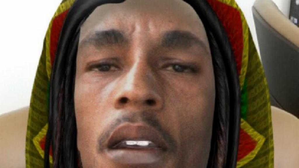 Filtro Bob Marley no Snapchat