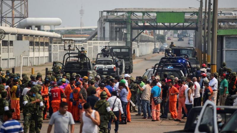 Acidente em fábrica de produtos químicos no México
