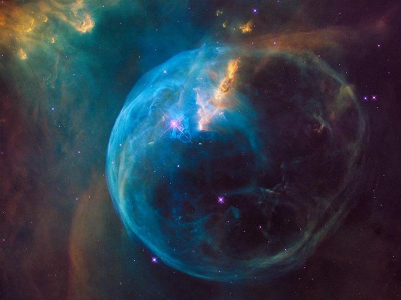 Hubble celebra aniversário com nova foto da Nebulosa Azul
