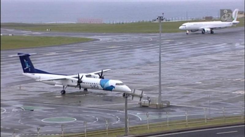 Mau tempo nos Açores está a causar complicações nos voos