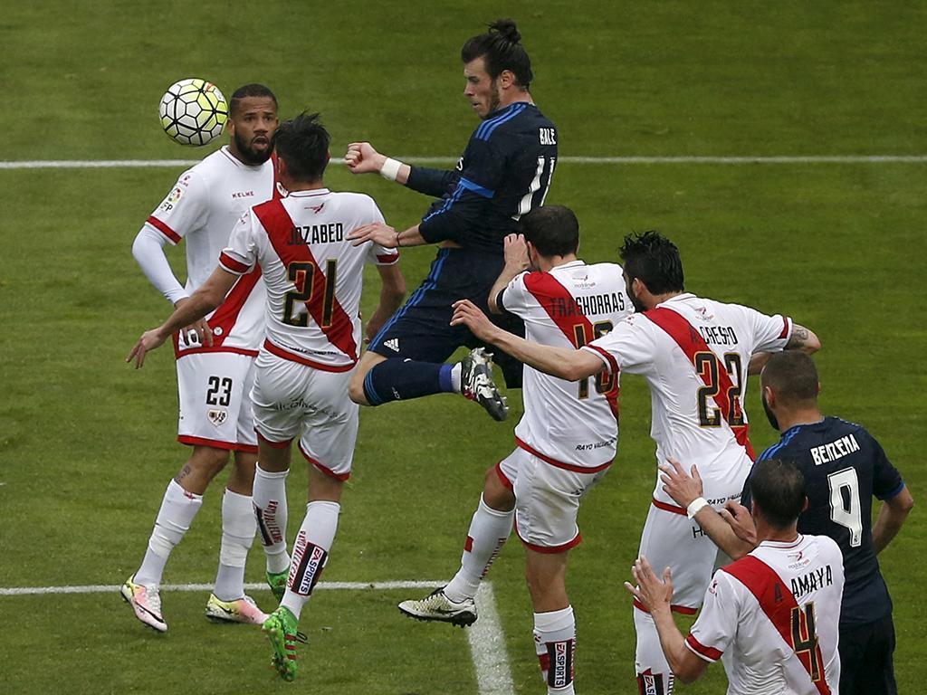 Rayo Vallecano-Real Madrid (Reuters)