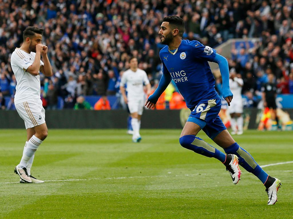 Leicester-Swansea (Reuters)