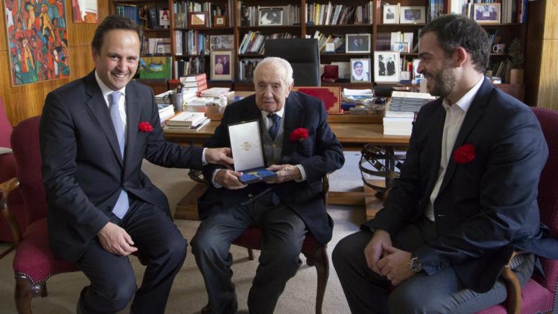 Fernando Medina, Mário Soares e Duarte Cordeiro