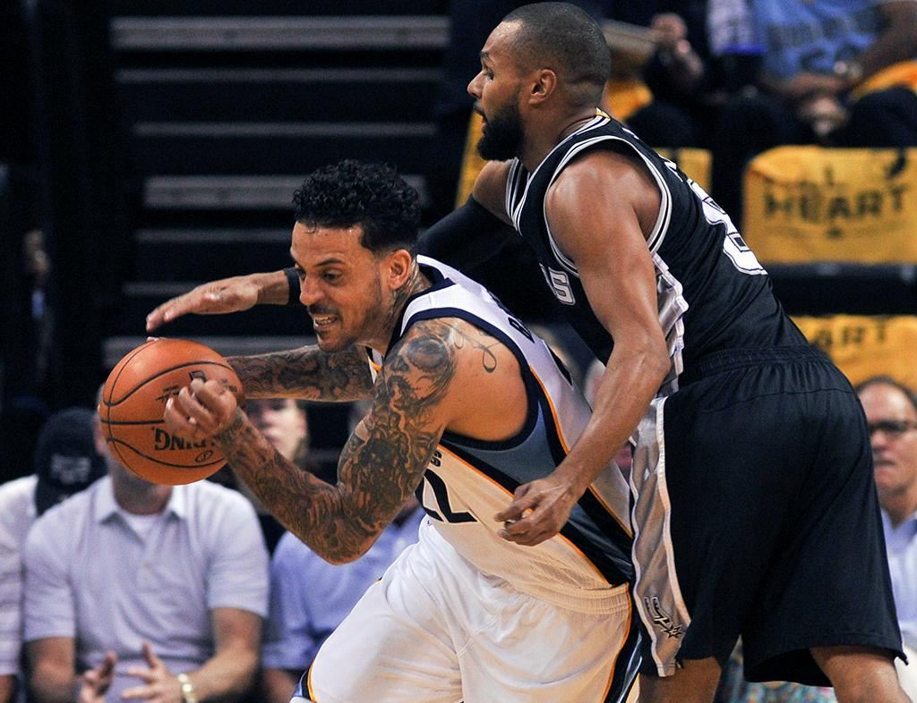 NBA: Spurs vs Grizzlies (REUTERS)