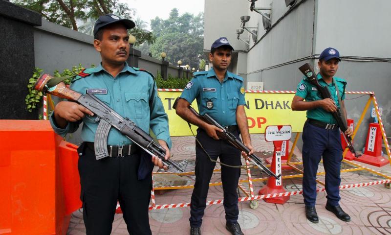 Polícia do Bangladesh