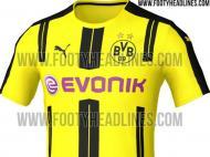 Os novos equipamentos do Borussia Dortmund?