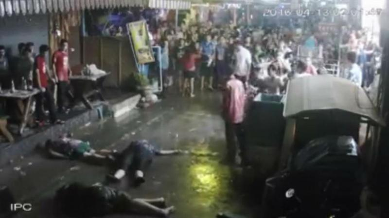 Família britânica agredida na Tailândia (Reprodução Facebook)