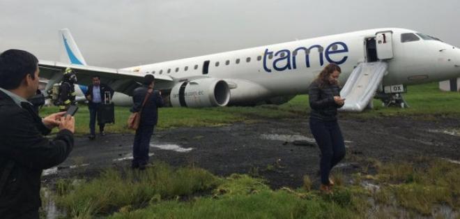 Acidente no Aeroporto de Cuenca