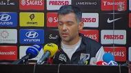 «Ouvi assobios dos adeptos do Benfica com o Setúbal na segunda parte»