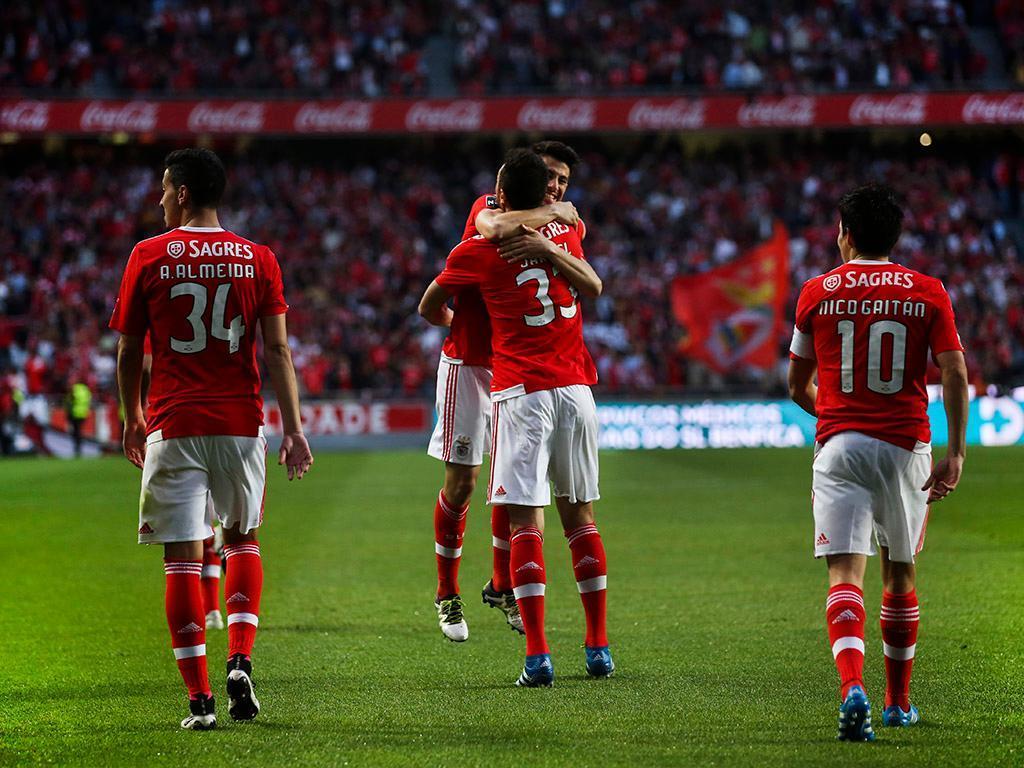 Benfica vs Guimarães (LUSA)