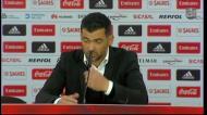 Sérgio Conceição explica a sua expulsão: «Estava a falar para o meu adjunto»