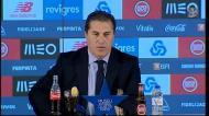 José Peseiro fala de dois penaltis por assinalar