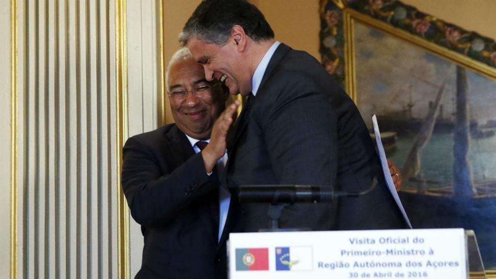António Costa e Vasco Cordeiro