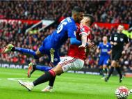 Man Utd-Leicester (EPA/Nigel Roddis)