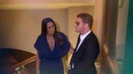 Luena e Xavier chantageiam Leila