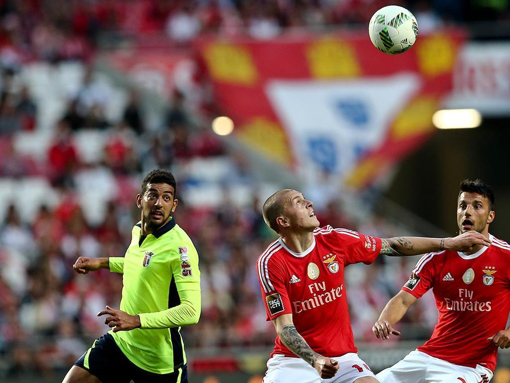 Benfica-Braga (LUSA)