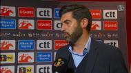 Paulo Fonseca: «Faltou-nos muito pouco»