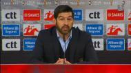 Fonseca: «Estivemos uma excelente reação ao 2-1»