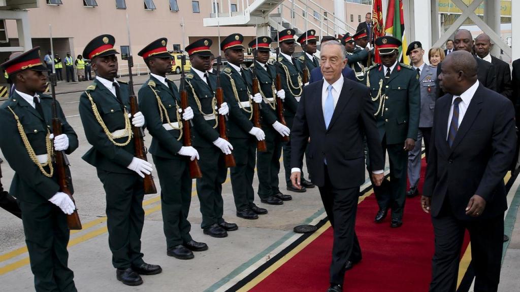 Visita oficial de Marcelo Rebelo de Sousa a Moçambique