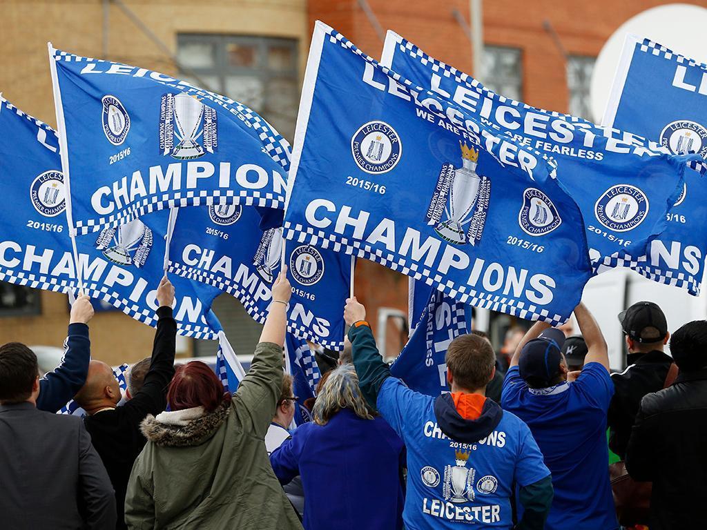 Leicester Campeão Inglês (Reuters)